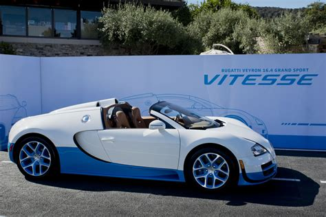 The bugatti chiron has accelerated from a standing start to 400 km/h and braked back to a. Special Edition Bugatti Veyron 16.4 Grand Sport Vitesse debuts at The Quail: A Motorsports ...
