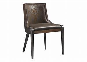 acheter votre fauteuil bridge contemporain tissu marron With chaise fauteuil contemporain