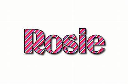 Rosie Text Logos