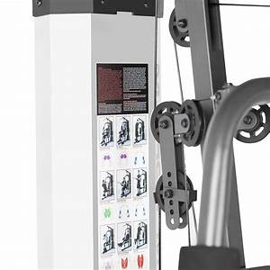 Marcy Home Gym System 150lb Weight Stack Machine