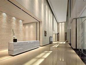 Office Lobby Interior Design Classic Sofa Property With ...