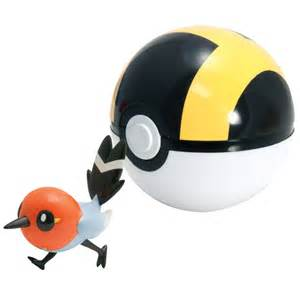 pokemon toys clip n carry fletching ultra poke ball