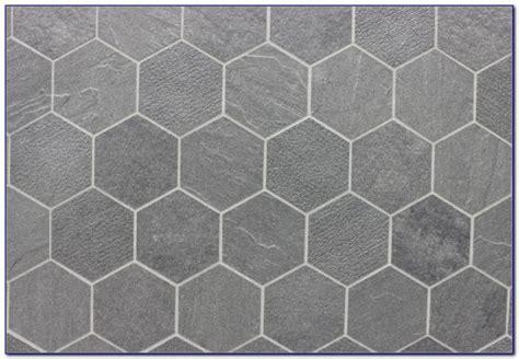 White Ceramic Hexagon Floor Tile   Flooring : Home Design