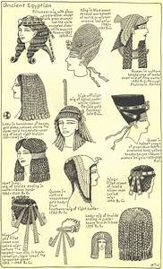 Ancient Egyptian Hairstyles- Plate 2 | Hair | Pinterest ...