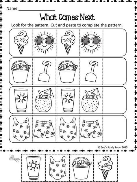 Summer Patterns Teacherspinteachers