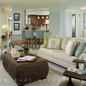 living room decorating ideas on a budget coastal living With coastal living room decorating ideas