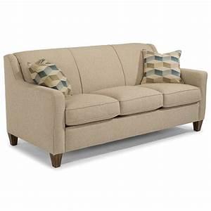 Flexsteel Holly Contemporary Queen Sleeper Sofa With