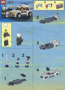 LEGO Squad Car Instructions 7236, City Police Rescue