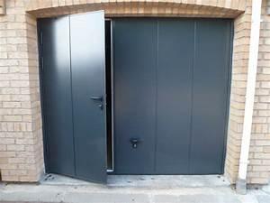 porte de garage basculante avec portillon novoferm With porte de garage isolée