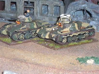 Painting Panzer Spanish Civil War Nationalist Side