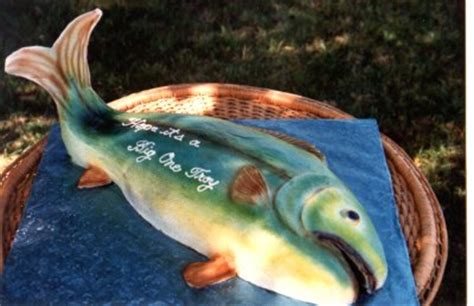 fish shaped cake cake ideas  designs