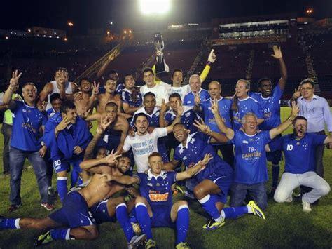 Fotos e vídeo do Cruzeiro Tricampeão - Jogadores com ...
