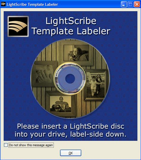 lightscribe introduces  template labeler software