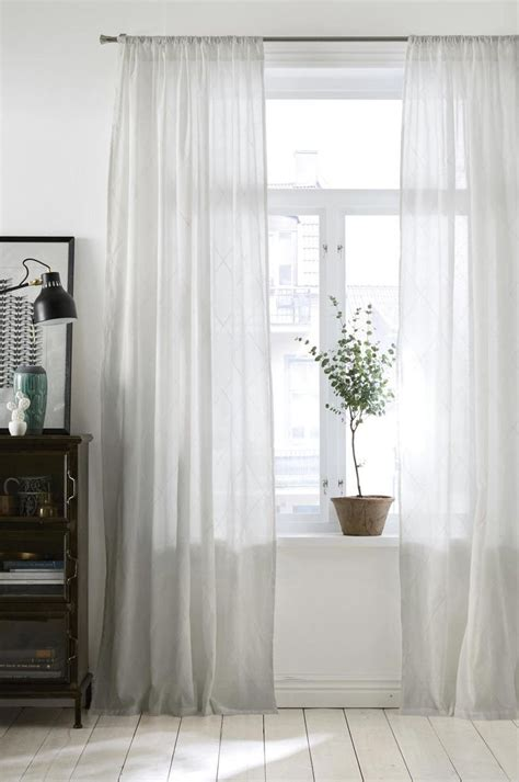 White Drapery by Best 20 White Curtains Ideas On