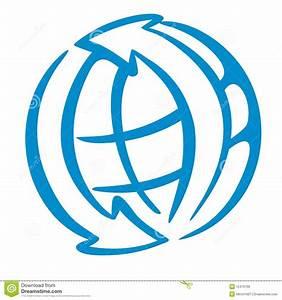 World Logo Stock Photo - Image: 12475190