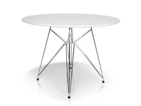 Weisser Tisch Rund by Rolly Tisch Rund 105 Cm Weiss