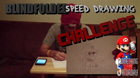 Blindfolded Speed Drawing Challenge (Video Game
