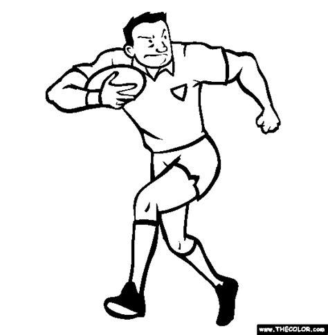 Rugby Kleurplaat by Rugby Coloring Page Free Rugby Coloring Summer