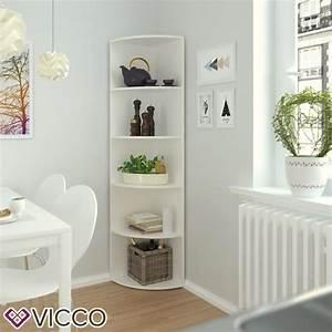 Eckregal Weiß Bad : vicco eckregal wei regal k chenregal badezimmer real ~ Markanthonyermac.com Haus und Dekorationen