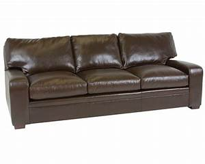 Classic leather vancouver sofa 4513 leather furniture usa for Sectional sleeper sofa vancouver