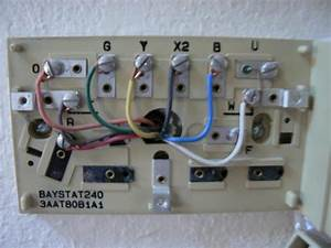 What Would The Wiring Be Replacing A Trane Baystat240 With