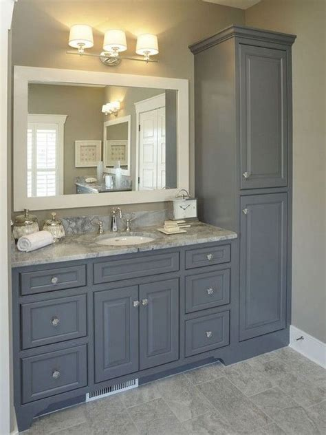 Built In Vanity Cabinets For Bathrooms by Bathroom Linen Cabinets Linen Linen Storage Ideas