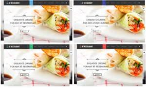 Restaurant Food Order Template