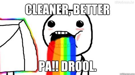 Drooling Meme - rainbow drool meme www imgkid com the image kid has it