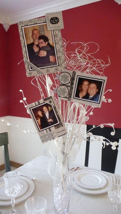 table centerpieces using photos 7 simple diy wedding centerpieces diy