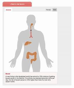 Interactive Body Map  Understanding Cancer