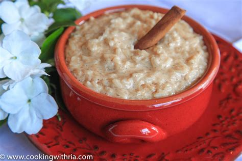 sweet rice above sweet rice was made with ground cinnamon which explains the difference in color from the