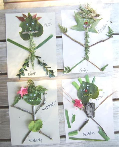 outdoor craft using all sorts of items from nature 939 | 95d725ca161ba0b519208b838203601b