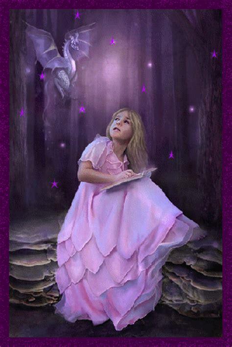 girl girl  purple dragon fantasy myniceprofilecom