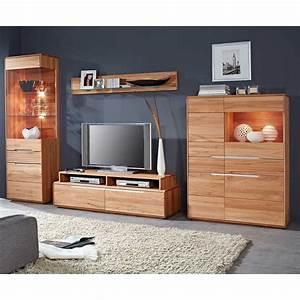 Wohnwand Massivholz Perfect Wohnwand Massivholz With