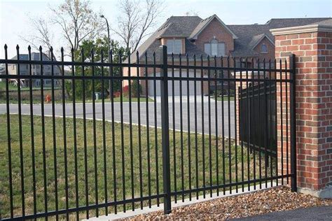 house security fence best home security fence ackerman security systems