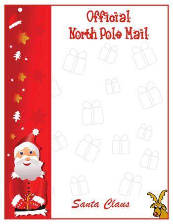 pin  lisa howard  printable santa letters santa