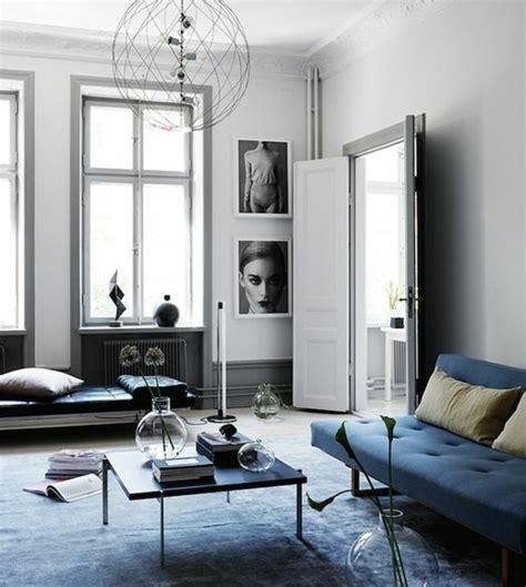 canapé style cagne chic déco salon gris 88 idées pleines de charme