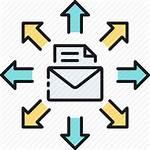 Mailing Mass Icon Email Blast Direct Bulk