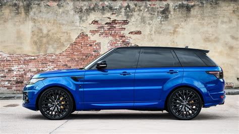 blue land rover view from the press the project kahn imperial blue range
