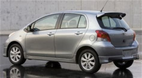 2010 toyota yaris specifications car specs auto123