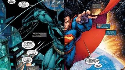 Superman Batman Comic Wallpapers Desktop Comics Jim