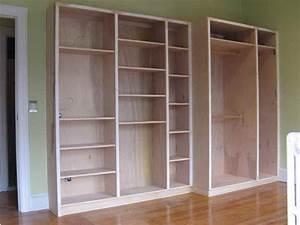 Built In Shelf Plans PDF Woodworking