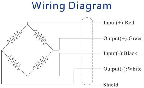 6 wire load cell diagram 24 wiring diagram images