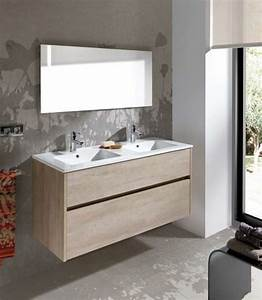 Meubles lave mains robinetteries meuble sdb meuble de for Double vasque de salle de bain