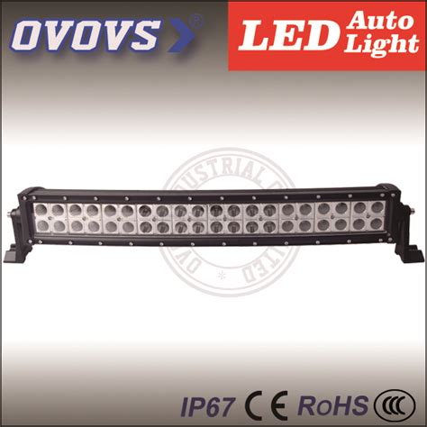 dual row best led light bar 120w curved car offroad light
