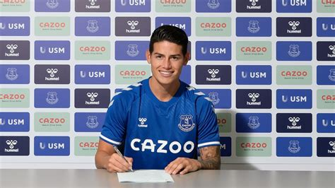 James Rodriguez completes transfer from Real Madrid to ...
