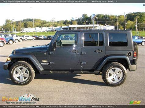 jeep dark blue 2008 jeep wrangler unlimited sahara 4x4 steel blue