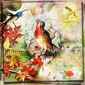 Vintage Autumn Collage | Digital Scrapbooking at Scrapbook ...