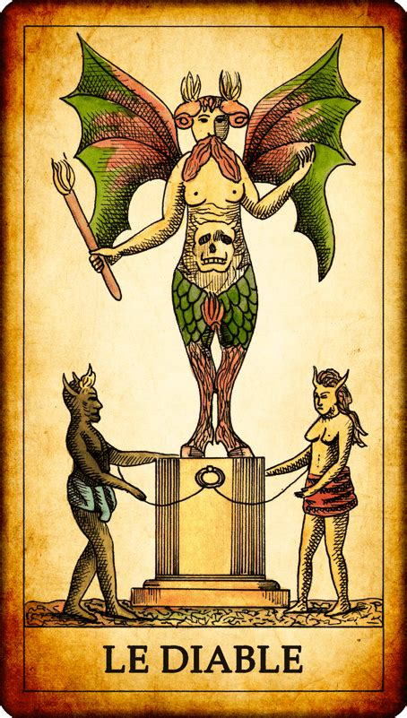 carte de tarot le diable