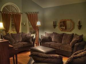 living room paint color ideas for living room with brown With brown couches living room design